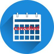 Calendar cancelled