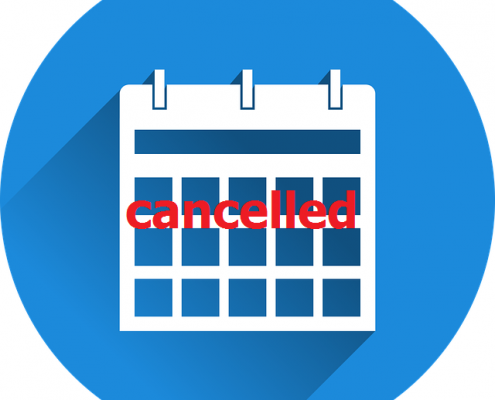 Calendar cancelled